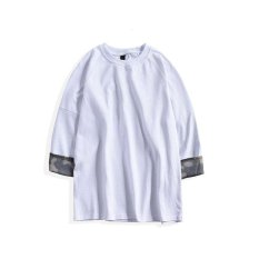 Sale Victory Personality Men S T Shirt In The Loose Sleeve T Shirt(White) Intl Online On China