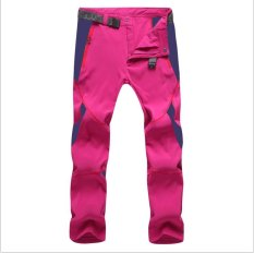 Who Sells Victory Women And Men Sports Pants Outdoor Sport Riding Climbing Stretch Pants Quick Drying Pants Unisex(Red) Intl The Cheapest