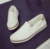 Sale Victory Women S Fashion Flat Shoes Slip Ons Walking Casual Shoes Canvas Shoe Surface White Intl Oem Online