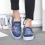 Cheapest Victory Women S Fashion Sneakers Sport Shoes Fitness Running Shoes Walking Dark Blue Intl