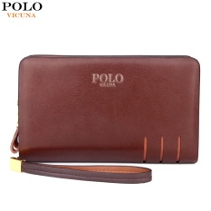 Best Reviews Of Vicuna Polo Paul Men S Wallet Double Zipper Handbag Men S Wallet Long Section Large Capacity Intl