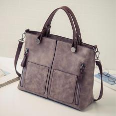 Vintage Double Zip Hand Bag Sling Bag Rose Lowest Price