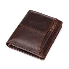 Where To Shop For Vintage Leather Wallet Men Short Wallets Male Card Holders Mens Clutch Coin Purse Good Capacity Decent Wallets Intl