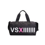 Recent Vs Pirnt Letter Women Waterproof Fitness Bags Gym Bags Sport Bag Black Intl
