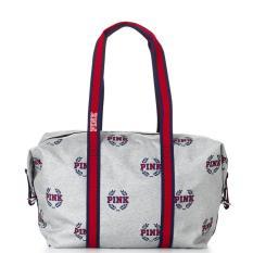 2d1fdc12b7 VS Victoria s Secret x Pink series Collegiate College travel gym large  duffle shoulder tote bag