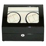 Watch Winder 4 6 Black With Beige Interior For Sale