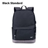 Best Reviews Of Waterproof Backpack Usb 15 6 Inch Laptop Bag Men Women Large Capacity Black Grey Backpacks Sch**l Bags Mochila Masculina Standard Intl