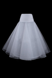Latest Wedding Dress Bride Gowns Petticoat Underskirt Slips 1 Hoop A Line White White Intl