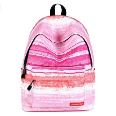 Weisizhong Fashion Printed Backpack Cute For Sch**l Lightweight Women Backpack College Student Sch**l Backpack Pink Intl China