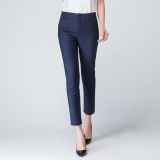Price White Spring And Summer Thin Section Pencil Pants Dark Blue China