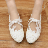 Purchase White Pointed Pearl High Heeled Shoes 5 Cm With High Standard Code 5 Cm With High Standard Code