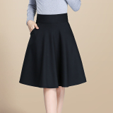 Price Comparisons Women S High Waist Pleated A Line Skirt Black Black