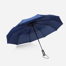 08fca8fe49ea6 Wind Resistant Folding Automatic Umbrella Rain Women Auto Luxury Big Windproof  Umbrellas Rain for Men Black