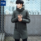 Buy Winter Slim Fit Padded 3 4 Quilted Cotton Padded Jacket Dark Green Color Dark Green Color Cheap Singapore