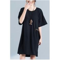 Retail Woman Black Dress