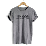 Promo Woman Casual Letters T Shirt Gray Tc