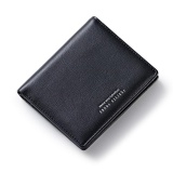 Buy Woman Short Wallet 2017 Card Multi Hasp Simple Wallet Purse Letters Black Intl