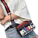 Womdee Fashion Colorful Women S Pu Graffiti Bag Single Shoulder Message Bag Mini Bag Intl Discount Code