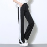 Sale Women Autumn Spring Loose Sports Joggers Pants Female Fitness Workout Running Yoga Sweatpants Lady Casual Long Straight Cotton Pants Black Intl Online China