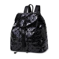 Women Backpack Feminine Geometric Plaid Sequin Female Backpacks For Teenage Girls Bagpack Drawstring Bag Black Intl Online
