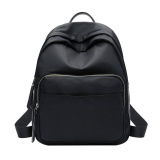 Buy Women Backpack Nylon Sch**l Students Travel Shoulder Bag For Teenager G*rl Black Intl