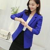 Women Blazers Jackets Suit Shrugged Coat Slim Ol Business Formal Female Ladies Office Outwear Single Breasted Intl Sale