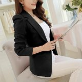 Who Sells Women Blazers Jackets Suit Shrugged Coat Slim Ol Business Formal Female Ladies Office Outwear Single Breasted Intl The Cheapest