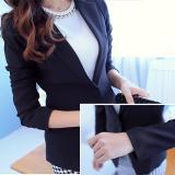 Low Price Women Blazers Jackets Suit Spring Single Button Ol Formal Female Ladies Blazer Black Intl