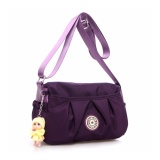 Low Price Women Canvas Waterproof Nylon Sling Shoulder Bags Intl