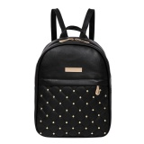 Women Chic Gorgeous Pu Leather Backpack Black Intl Online