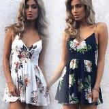 Best Offer Women Dress Skirt Summer Snow Spins Condole Belt Vest Jumpsuits Intl
