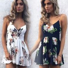 Buy Women Dress Skirt Summer Snow Spins Condole Belt Vest Jumpsuits Intl Oem Online