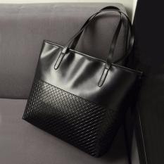 Great Deal Women Elegant Large Capacity Shoulder Bags Handbag Casual Tote Black Intl