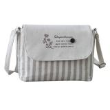 Women Fresh Striped Girls Shoulder Bags Cotton Bags Small Crossbody Bag Intl Shop
