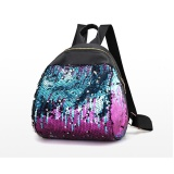 Discount Women G*rl Backpack Travel Rucksack Shoulder Shiny Sequins Sch**l Bags Pp Intl Not Specified China