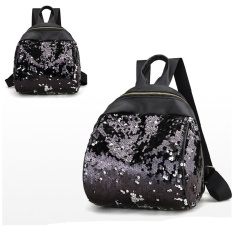 Women G*rl Backpack Travel Rucksack Shoulder Shiny Sequins Sch**l Bags Bk Intl China