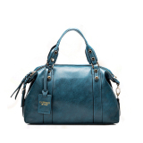 Lowest Price Women Handbag Ladies Pu Leather Shoulder Bag Fashion Large Tote Bag Blue Intl