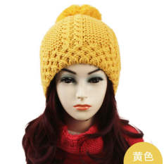 Cheap Women Hat Cap Yellow