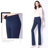 How To Buy Women High Waist Skinny Pants Slim Flared Pants Bootleg Jeans Bell Bottoms Boot Cut Trousers Intl