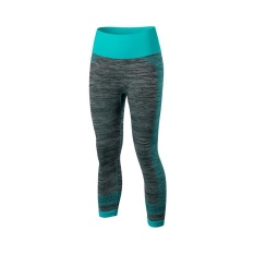 Price Comparisons For Women Jogging Compression Leggings Baselayer Cool Dry Sports Running Capris Tights Fitness Gym 3 4 Pants Blue Intl