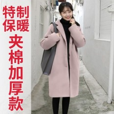 Best Reviews Of Women Korean Classic Winter Jacket Winter Down Winter Wool Coat Plus Size Black Intl