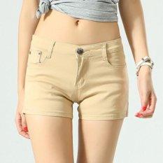 Best Women Ladies Candy Color Shorts Summer Denim Short Pant Jeans Intl