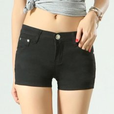 Best Rated Women Ladies Candy Color Shorts Summer Denim Short Pant Jeans Intl