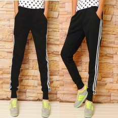 Buy Women Ladies Casual Sport Pant Elastic Waist Trousers Running Jogging Plus Size Intl Online