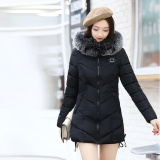 Sale Women Ladies Slim Hooded Down Padded Long Winter Warm Parka Outwear Jacket Coat Intl Not Specified Branded