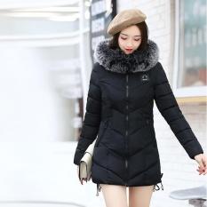 Sale Women Ladies Slim Hooded Down Padded Long Winter Warm Parka Outwear Jacket Coat Intl Not Specified Wholesaler