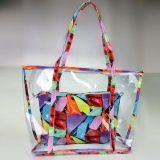 Review Women Lady Clear Transparent Beach Bag Shoulder Summer Jelly Candy Handbag Tote Intl Not Specified