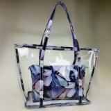 Sale Women Lady Clear Transparent Beach Bag Shoulder Summer Jelly Candy Handbag Tote Blue Intl Not Specified Cheap