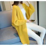 Price Comparisons For Women Lady Korean New Long Plaid Knit Cardigan Coats Warm Sweater Coat Intl