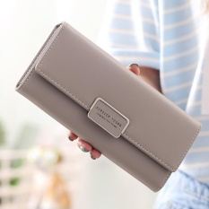 Sale Women Long Purse Ladies Long Wallet Big Capacity Handheld Purse Handbag New Fashion Pu Wallet With Straps Intl Oem